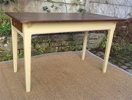 table de cuisine ancienne table de cuisine ancienne bois peint et patiné avec tiroir meubles