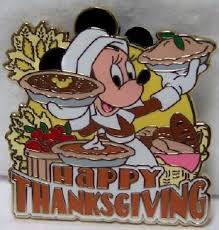 disney pilgrim minnie happy thanksgiving le 3000 pin new