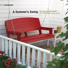 front porch plans free free porch swing plans porch swing plan from skil for the home