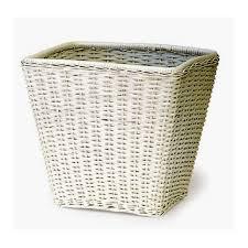 cane laundry hamper rattan square waste basket cobra cane