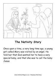 nativity story printable