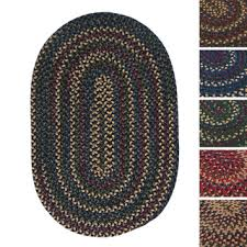 Oval Area Rugs Charisma Indoor Outdoor Oval Braided Rug By Rhody Rug 10 X 13