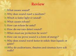 What Travels Faster Light Or Sound Sound Aim To Learn About The Physics Of Sound In This Topic We