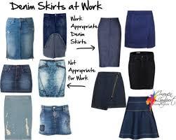 denim skirts denim skirts can you wear them to work