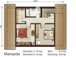 proiecte de case cu amprenta mica la sol small footprint house