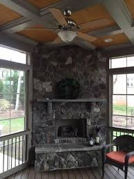 Screen Porch Fireplace by What Do I Need To Consider To Have A 2nd Story Outdoor Fireplace