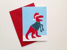 dinosaur card trex card card