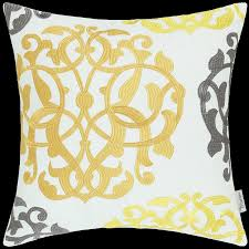 calitime home decor cushion covers pillows shell white cotton