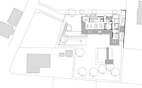 L Shaped House Plans Modern Gallery Of Villa S Two In A Box Architekten Zt Gmbh 10
