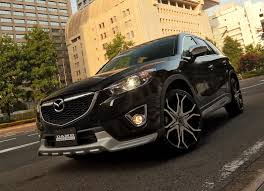 mazda 6 crossover mazda cx 5 suv gets a silver chin from japanese tuner damd