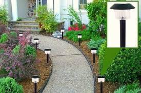 Backyard Solar Lighting Ideas Solar Light Walkway Diy Pinterest Solar