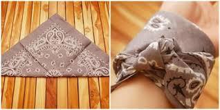 bandana wristband 11 trendy ways to wear bandanas tip junkie