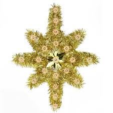 christmas tree tinsel 21 oversized lighted gold tinsel of bethlehem christmas tree