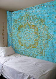 Tapestry Duvet Boho Chic Accessories Bohemian Style Accessories Mandala Wall Tapestry