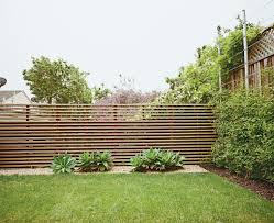 Modern Fence Like The Fence Nice Horizontal Lines Attractive Backdrop