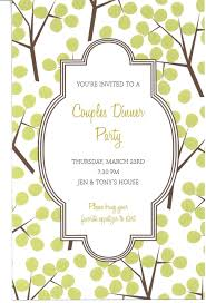 downloadable dinner invitations templates free download funny