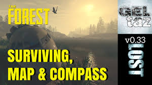 United States Map With Compass by The Forest Map Compass And Surviving Youtube