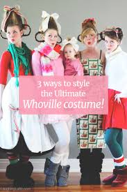 the grinch costume for toddlers laughing latte 3 ways to assemble the ultimate whoville costume
