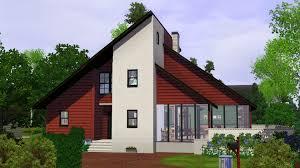 mod the sims 90 u0027s contemporary house