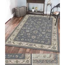Overstock Rugs 5x8 Admire Home Living Artisan Flora Area Rug 7 U00279 X 11 U0027 Free