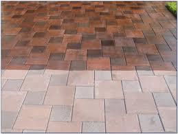 Cement Patio Sealer How To Clean Concrete Patio Pavers Patios Home Decorating