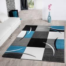 Wohnzimmer Teppiche Modern Wohnzimmer Grau Türkis Ruhbaz Com