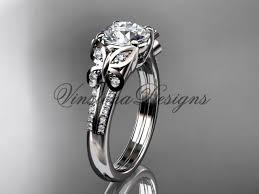 butterfly engagement ring platinum diamond engagement ring butterfly ring wedding ring adlr514