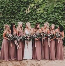 Wedding Bridesmaid Dresses The 25 Best Dusty Pink Bridesmaid Dresses Ideas On Pinterest