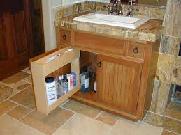 Bathroom Vanity Pull Out Shelves by Bathrooms Unique Design Cabinet Co
