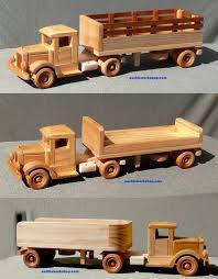 Instructions Build Wooden Toy Truck by 309 Best Toy Wood Trucks Images On Pinterest Wood Toys Toys And