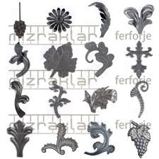 ornamental leaves wrought iron id 5112644 product details