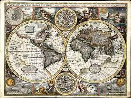 The Rift Ce Treasure Map New And Accurate Map Of The World 1627 Possibly By The English