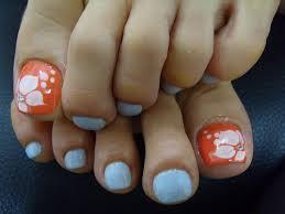 toe nail art flower designs nail toenail designs art