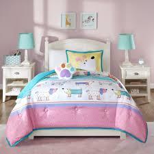 girls twin bedding set dog bedding set korrectkritterscom