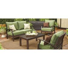Lowes Allen And Roth Outdoor Furniture - eastfield love seat replacement cushion set garden winds