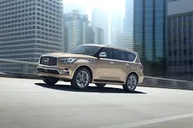 jeep infiniti 2018 infiniti qx80 gets a new face more tech better road manners