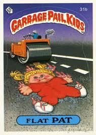 kid cards garbage pail kids original series 1 card collection geektyrant