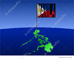 Philippines Flag Philippines With Manila Flag Stock Illustration I1440830 At