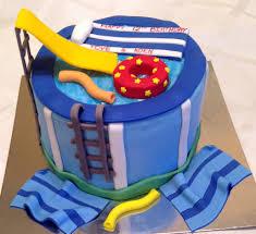 pool party cake story kay cake designs