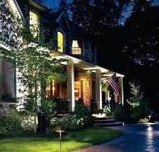 low voltage led outdoor lights lighting a inviting landscape light