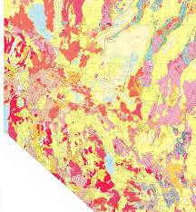 Reno Map Reno Tahoe Region Nevada Geologic Map Maplets