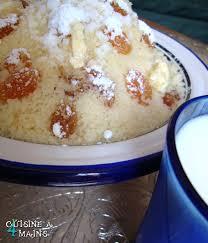 cuisine alg ienne couscous mesfouf ou couscous fin aux raisins secs cuisine à 4 mains