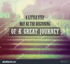 inspirational quote journey inspirational quote motivational background stock photo 468257012