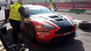 aston martin gt3 aston martin vantage gt3 pit stop race 12 hours italy mugello 2016