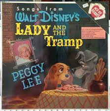 peggy lee songs walt disney u0027s lady tramp vinyl lp