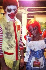 Cool Halloween Costumes Couples 25 Scary Couples Costumes Ideas Scary