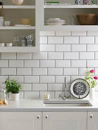 white subway tile kitchen backsplash simple white tile backsplash with grey grout white subway