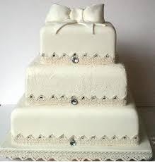 wedding cake nottingham vintage wedding cakes vintage lace and bow wedding cake