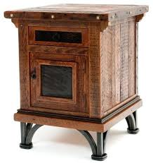 reclaimed wood end table distressed wood end table naderve info