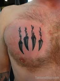 claw on chest designs pictures